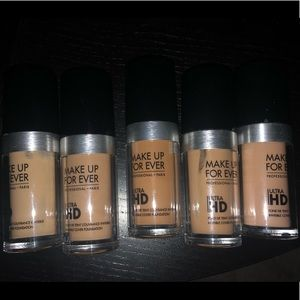 Slightly used Makeup Forever foundations.